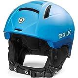 Briko Canyon Casco de esquí/Snow, Adultos Unisex, Matt Blue Planet-Blue Space, 59-64 cm