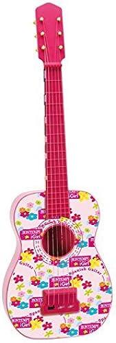 BONTEMPI 71 cm Spanish Guitar (Rosa) by Bontempi