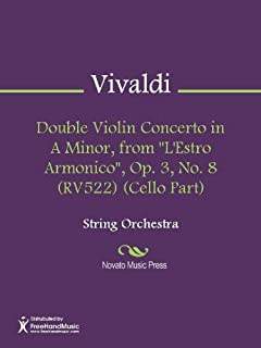 Double Violin Concerto in A Minor, from