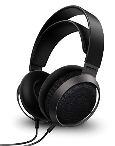 Philips Audios Fidelio X3 Wired Over-Ear Open-Back Headphones, Multi-Layer 50Mm Diaphragms, Hi-Res Certified, Premium Finishing - Hear The Difference
