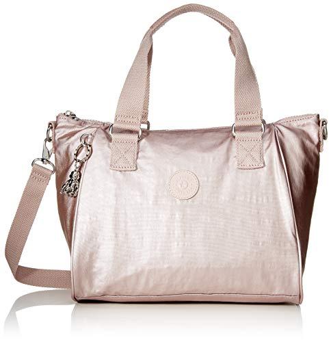 Kipling Damen Amiel Tornistertasche Pink (Metallic Rose)