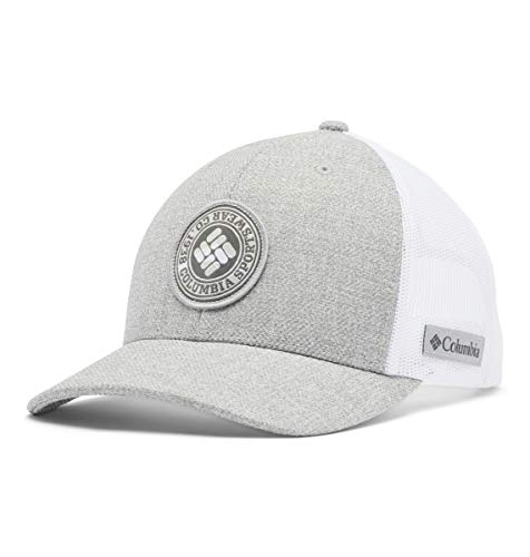 Columbia Mesh Snap Back Hat, Grey Heather, One Size