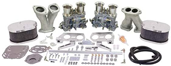 Appletree Automotive Dual 44 IDF Carburetor Kit, by Weber Deluxe Compatible with VW & Dune Buggy
