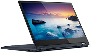 Lenovo ideapad C340 2 in 1 Laptop, Intel Core i5-10210U, 14 inch FHD TOUCH, 512GB SSD, 8GB RAM, NVIDIA GeForce MX230 2GB Dedicated Graphics, Win10, Backlit Eng-Arb KB, Abyss Blue - [81TK004VAX]