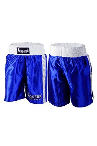 Boxeur des rues - Pantalón Corto de Boxeo Modelo clásico Fight Activewear, Hombre, Fight Activewear, Turquesa, Large