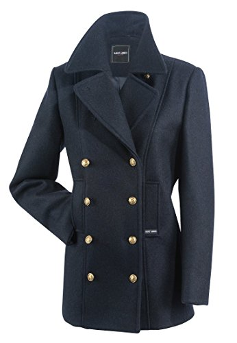 Saint James VOILURE - Winterjacke aus 100 % Wolle - Bretonische Jacke (46)
