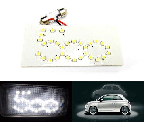 Led Blanc Intérieur Panneau dôme carte lampe de lecture 269 C5 W 31 mm Ampoule Navette pour 500 type 312