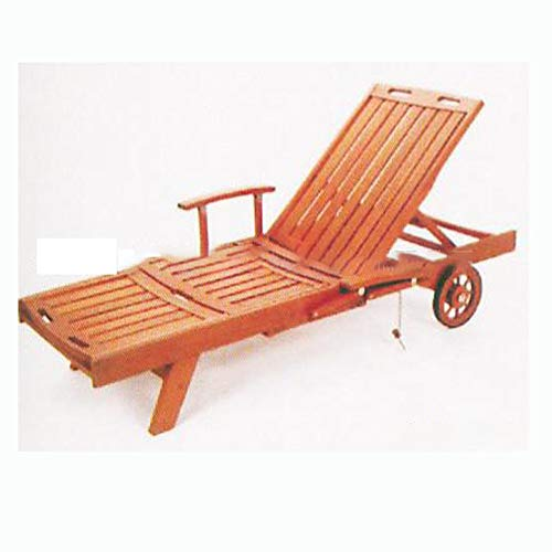 Zhuowei Acacia wood foldable case function Curvy Ergonomic garden lounger deck chair Acacia wooden goat lounger garden lounger deck solid for garden terrace swimming pool,Natural