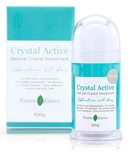 Thai Crystal Deodorant, All Natural Deodorant, Mineral Salt Deodorant,...