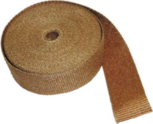 Thermo-Tec resistente al calore isolante scarico Wrap, 15m (50piedi) lungo, 1cm, colore: rame