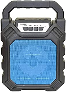 Rechargeable Bluetooth speaker with usb and aux in put HL 668W