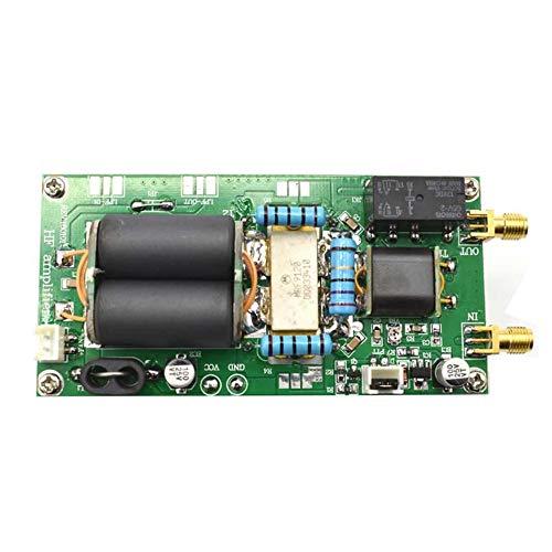 Libertroy Amplificador de Potencia HF Lineal de 100 W SSB ensamblado con disipador térmico para Placa de módulo YAESU FT-817 KX3 CW Am FM C5-001 - Verde y Negro