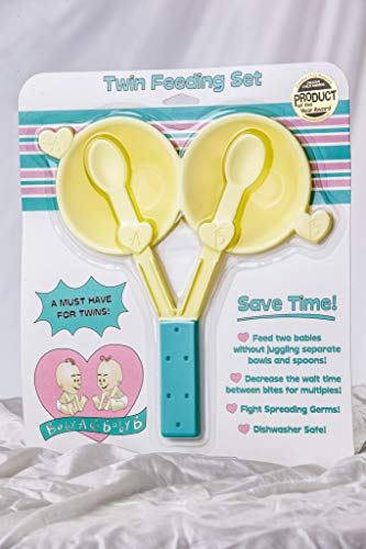 Amazing Deal Baby A & Baby B Twin Feeding Set
