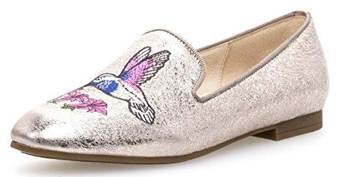 Gabor Damenschuhe 84.262.62 Damen Slipper, Mokassins, Sommerschuhe Beige (Muschel), UK 5