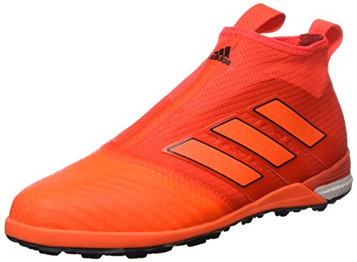 adidas Ace Tango 17+ Purecontrol Tf, Scarpe per Allenamento Calcio Uomo, Multicolore (Solar Red/Solar Orange/Core Black), 46 EU
