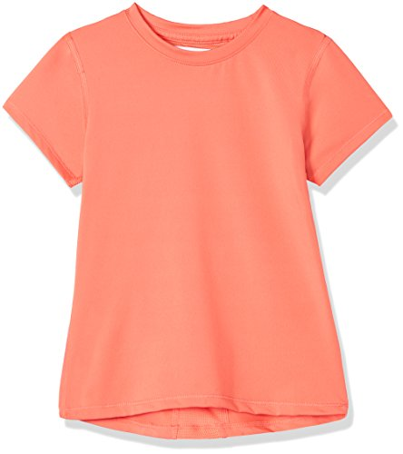 RED WAGON Mädchen Atmungsaktives Sport T-Shirt, Rot (Mandarine), 110 (Herstellergröße: 5 Jahre)