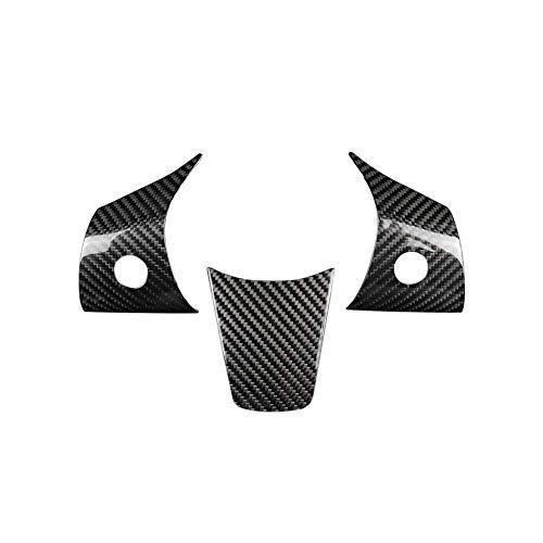 Buyfunny01 Stee adesivo per ruote, anti graffio, impermeabile, in fibra di carbonio, antipolvere, per interni auto, resistente all'usura, antiscivolo, adatto per Tesla Model 3