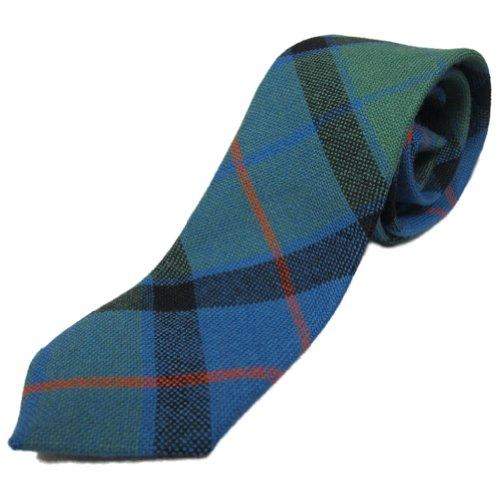 Ingles Buchan Corbata estilo tartán para niños - 100% lana - Flower Of Scotland