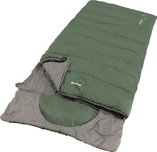 Outwell Contour Lux Schlafsack XL Green 2021 Quechua Schlafsack