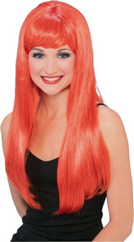 Rubie's Costume Glamour Orange Wig