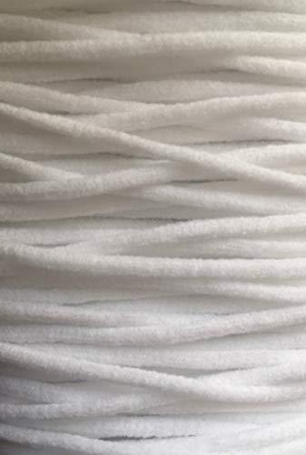 Telliswelt 2,5mm x10 m weiches Hutgummi Gummikordel zb. Gummi für Masken