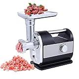 HAOT Picadoras de Carne eléctricas, máquinas para Hacer Salchichas, picadoras de Comida caseras para Picar Carne y Verduras y Rellenos caseros o Salsa de Chile