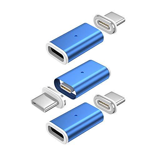 NetDot 10th Generación Adaptador Magnético de Carga Rápida USB-C a USB-C Adaptador...