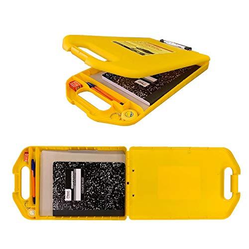 ダルトン Storage clipboard Y825-1083 Yello 収納ケース付き クリップボード