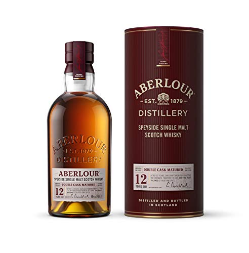 Aberlour 12 Year Old Single Malt Scotch Whisky, 70 cl (Double Oak Cask)