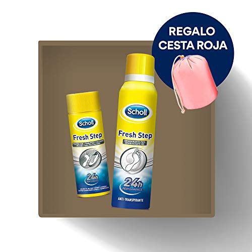 Scholl Desodorante Calzado Fresh Step Antitranspirante + Polvos...
