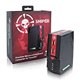 Brook Mouse and Keyboard PS4 Converter, Sniper PRO FPS Adapter Controller for PS4 PS3 Xbox One Switch PUBG FORTNITE SPLATOON2
