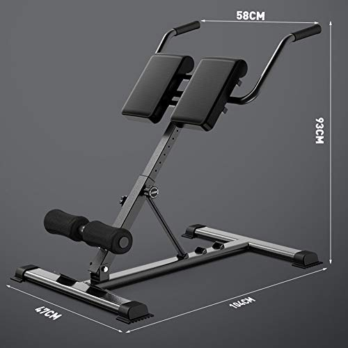 Product Image 7: SHKY Multifunctional Back Hyperextension Bench, Home Fitness Equipment Benches, for Strengthening Abs, Strength Training Workout Fitness Equipment,A