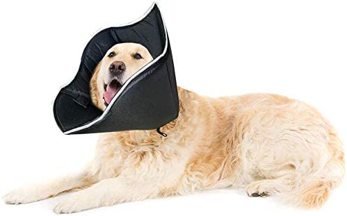 E KOMG Pet Recovery Collar for Surgery with Elastic Loops Protective Collar for Wound Healing product image