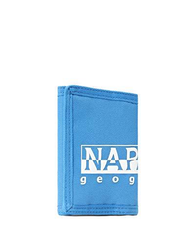 Napapijri Happy Wallet 1 Münzbörse, 7 cm, French Blue