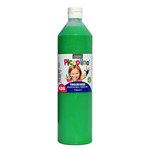 Piccolino Fingerfarbe Grün, 750 ml Flasche