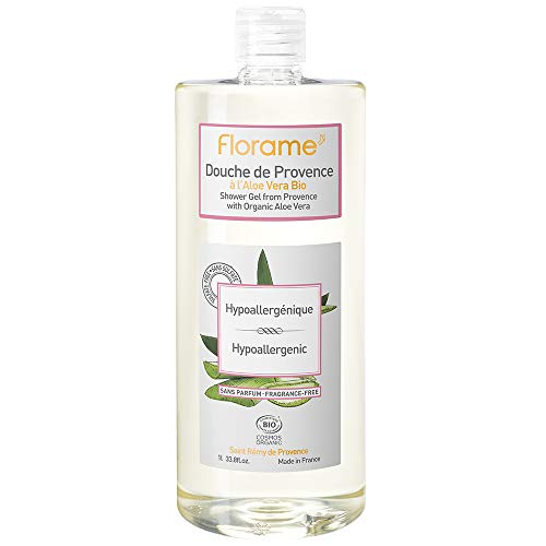 Florame Douchegel Parfumvrij/Hypoallergeen, 1000 Ml