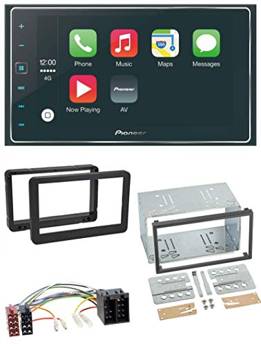 caraudio24 Pioneer SPH-DA120 USB 2DIN MP3 AUX Bluetooth Autoradio für Alfa Romeo 159 Spider Brera ab 05 Navi