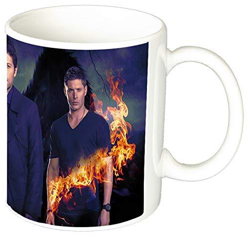 Supernatural Jensen Ackles Jared Padalecki Misha Collins Tasse Mug