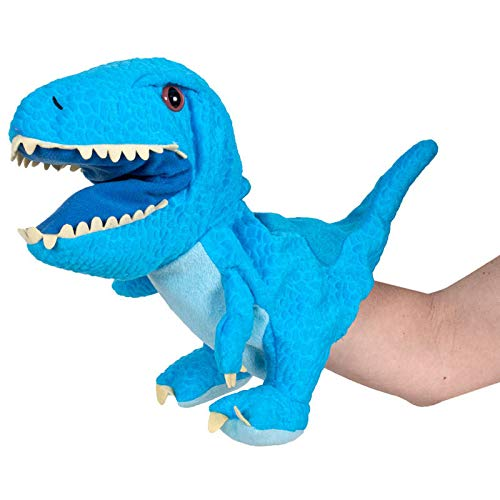 Peluche marioneta Raptor 25 cm Jurassic World