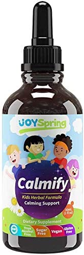 Kids Magnesium Supplement Calming Drops for Kids Anxiety Relief Perfect Stress Anxiety Calming product image