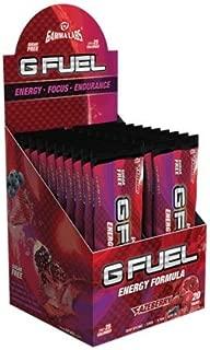 Gamma Enterprises G Fuel Nutrition Supplement, Fazeberry, 20 Count