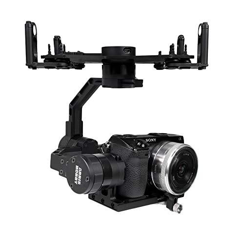 ARRISHOBBY ZHAOYUN PLUS 3軸ジンバル ミラーレス専用空撮スタビライザー32bit版 360度無制限回転 FPV空撮 航空撮影 ミラーレスカメラマウント 雲台 日本語説明書附属