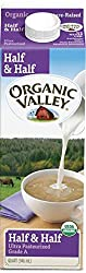 Organic Valley, Organic Half & Half, Ultra Pasteurized, Quart, 32 oz