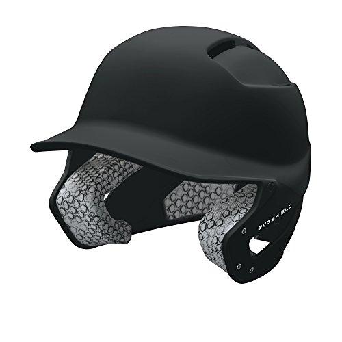 Casco de Béisbol Negro para mayores Excelente diseño