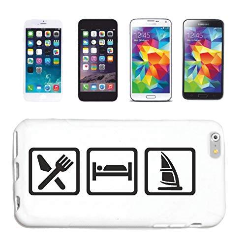Reifen-Markt Funda para teléfono móvil compatible con Huawei P9 Surf, tabla de surf, surf, surf, surferin, funda protectora para teléfono móvil