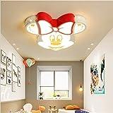 Lampada da soffitto a LED, ultra sottile, per cameretta dei bambini, lampada da soffitto, lampada da soffitto, per camera da letto, lampadario, 60 x 53 x 8 cm