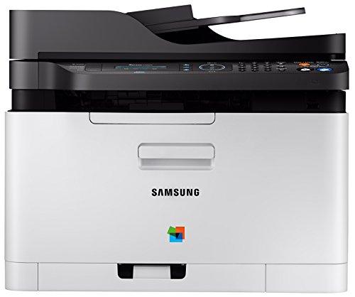 Samsung Xpress C480FN - Impresora láser - B/N 18 PPM, Color 4 PPM, Plateado y Negro