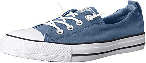 Converse Chuck Taylor Shoreline Slip Sportschuhe für Damen, - Blau, Weiß (Blue Coast White) - Größe: 3 F UK