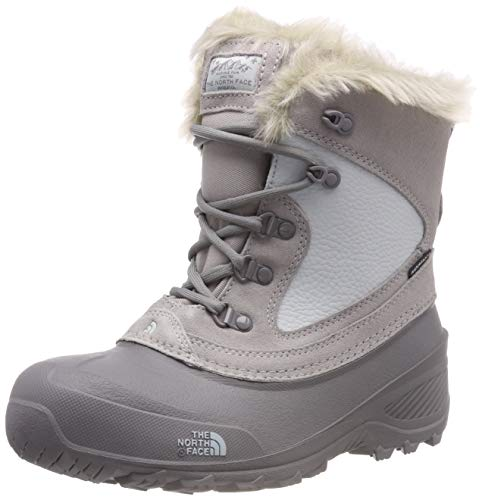The North Face Girl's Nuptse II Faux Fur Boots (5 Big Kid M)