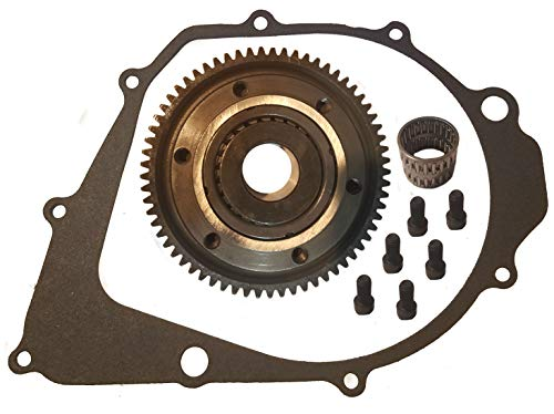 Top Notch Parts Replacement Starter Clutch And Gasket For Yamaha Warrior 350 1987 1988 1989 1990 1991 1992 1993 1994 1995 1996 1997 1998 1999 2000 2001 2002 2003 2004 YFM 350 FREE FEDEX 2 DAY
